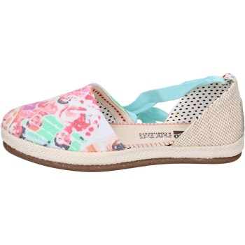 Chaussures Femme Espadrilles O-joo sandales toile multicolor