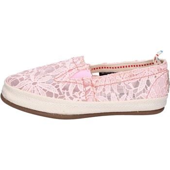 Chaussures Femme Slip ons O-joo slip on textile rose