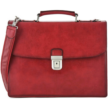 Sacs Homme Porte-Documents / Serviettes Etrier Serviette 1 compartiment CROSTA 104-00ECRO03 ROUGE