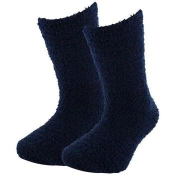 Accessoires Garçon Chaussettes Twinday Chaussettes Garçon Microfibre UNIABS Marine Bleu