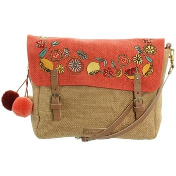 Sacs Femme Sacs Bandoulière Lollipops Sac porté travers  ref_45913 Corail 20,5*18*8 orange