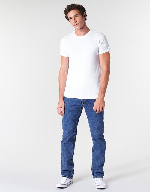 Vêtements Homme Jeans droit Levi's 514 STRAIGHT Stonewash stretch t2