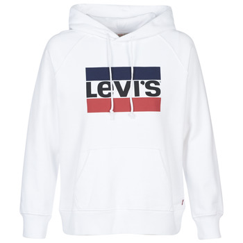 Vêtements Femme Sweats Levi's GRAPHIC SPORT HOODIE Blanc