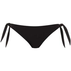 Vêtements Femme Maillots de bain séparables Rosa Faia Bas de maillot de bain à nouettes Myra Island Hopping Noir Noir
