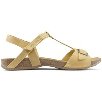 Chaussures Femme Sandales et Nu-pieds Interbios AFRODITE DE SANDALES Moutarde