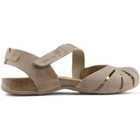 Chaussures Femme Sandales et Nu-pieds Interbios Sandales  UNIVERSE BEIGE