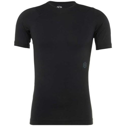 Vêtements Homme T-shirts manches courtes Under Armour Tee shirt rugby de compression Noir