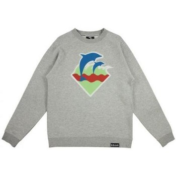 Vêtements Homme Sweats Pink Dolphin Sweat Crewneck  Spring Waves Gris Gris