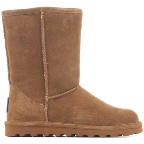 Chaussures Femme Bottes de neige Bearpaw II Elle Marron