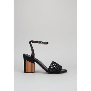 Chaussures Femme Sandales et Nu-pieds Krack  Noir