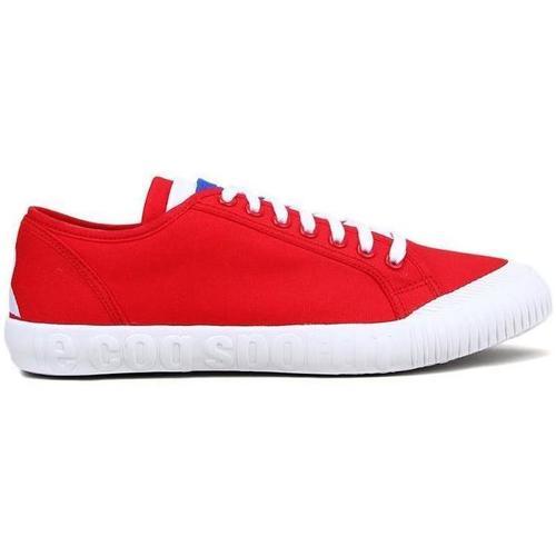 NATIONALE GS  Le Coq Sportif  baskets basses  femme  rouge