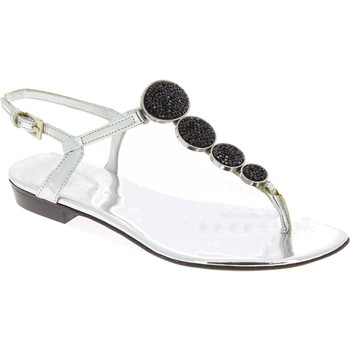 Chaussures Femme Sandales et Nu-pieds Barbara Bui J5407 SPJ 8010 argento