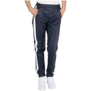 Jogging Oakwood Pantalon en cuir ref_cco45537 Marine