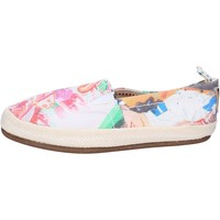 Chaussures Femme Slip ons O-joo slip on toile multicolor