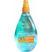 Beauté Protections solaires Garnier Ambre Solaire   Spray eau protectrice 20 FPS   150ml Autres