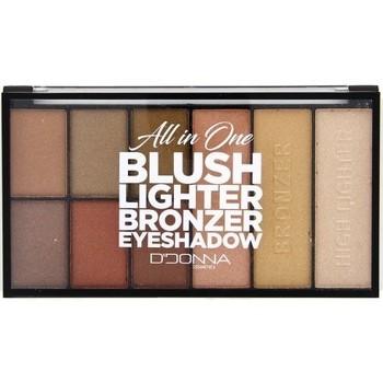 Beauté Femme Fards à paupières & bases D'donna - Palette Blush Lighter Bronzer et Eyeshadow N°2... Autres