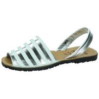 Chaussures Femme Sandales et Nu-pieds Avarca Cayetano Ortuño  Argenté