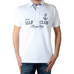 Vêtements Homme Polos manches courtes Marion Roth P40 Blanc