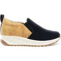 Chaussures Femme Slip ons Nae Vegan Shoes Veka NeoCork preto