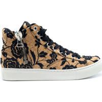 Chaussures Femme Baskets montantes Nae Vegan Shoes Milan Cork Marron