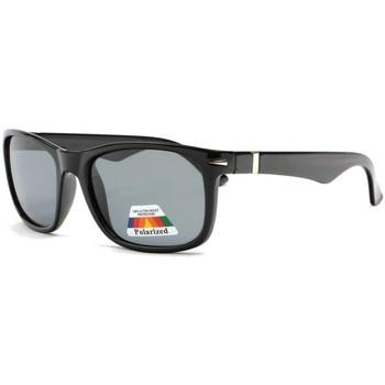 Montres & Bijoux Lunettes de soleil Eye Wear Lunettes Soleil Polarisees Noires Classes Et Confort Stany Noir