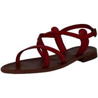 Chaussures Femme Sandales et Nu-pieds Iota 007 rouge