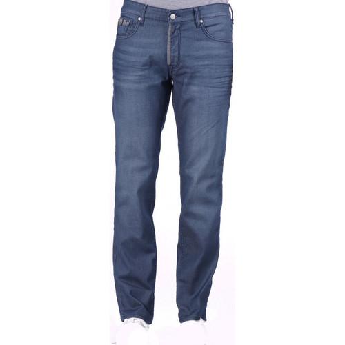 Vêtements Homme Jeans droit Kaporal Jeans Homme Coupe Droite DAVY Bleu Denim Delave