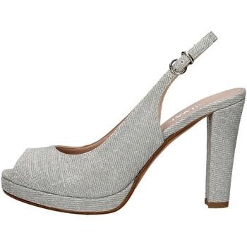 Chaussures Femme Sandales et Nu-pieds Silvana 452 Argenté