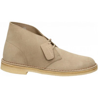 Chaussures Homme Boots Clarks DESERT BOOT M SUEDE sand