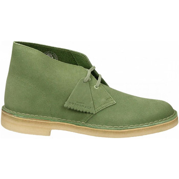 Chaussures Homme Boots Clarks DESERT BOOT M SUEDE cactus-green