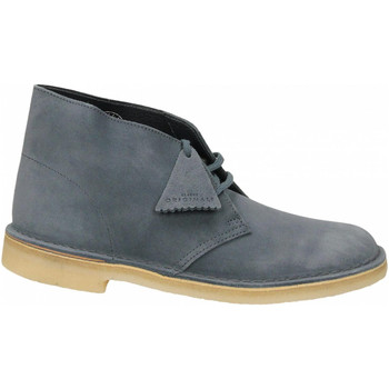 Chaussures Homme Boots Clarks DESERT BOOT M SUEDE deep-blue
