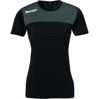 Vêtements Femme T-shirts manches courtes Kempa T-shirt Femme  Emotion 2.0 noir/rouge