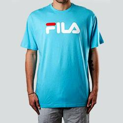 Vêtements T-shirts manches courtes Fila FILA CLASSIC PURE TEE SHIRT CARIB SEA Multicolore