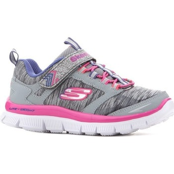 Chaussures Fille Baskets basses Skechers Kids Skech Appeal Gymt Gris,Rose
