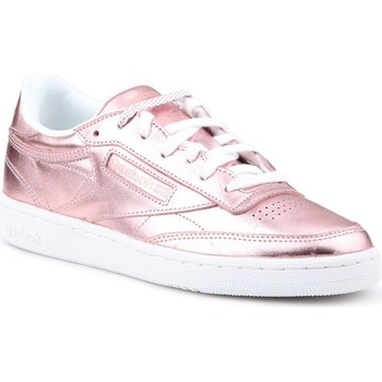 77e30b067e8bf Chaussures Femme Baskets basses Reebok Sport Club C 85 S Shine rose