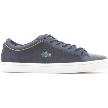 Chaussures Homme Baskets basses Lacoste Straightset Sport 118 3 Bleu marine