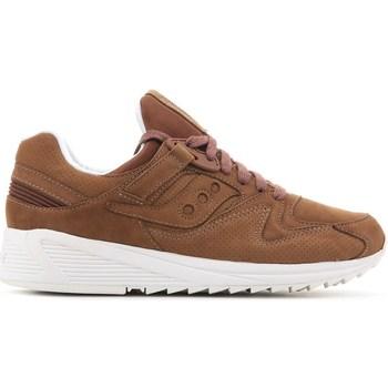 Chaussures Homme Baskets basses Saucony Grid 8500 HT Marron