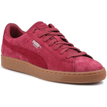Chaussures Homme Baskets basses Puma Basket Classic Weatherproof Bordeaux