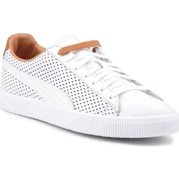 Chaussures Baskets basses Puma CLYDE - Livraison Gratuite | Spartoo