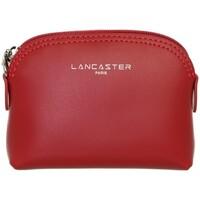 Sacs Femme Porte-monnaie LANCASTER Porte monnaie  Constance en cuir ref 3994 Rouge