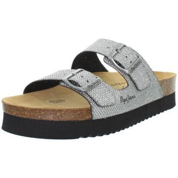 Chaussures Femme Sandales et Nu-pieds Pepe jeans Sandales  ref_pep43375-934-argent Argent