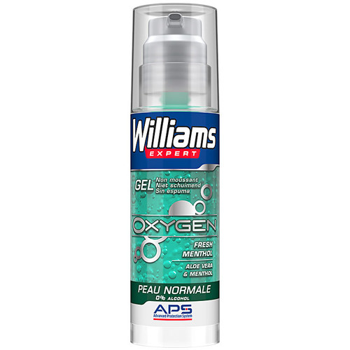 La Gel U Williams Barbe De 1 Homme Soins Afeitar Piel Normal 0Alcohol Expert Oxygen JlTc31FK