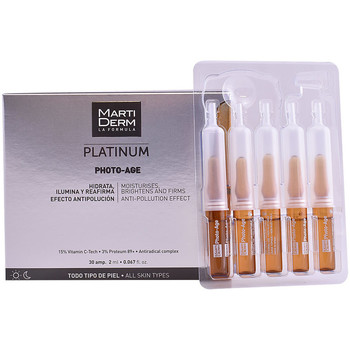 Beauté Anti-Age & Anti-rides Martiderm Platinum Photo-age Ampoules  30 x 2 ml