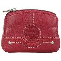 Sacs Homme Porte-monnaie Patrick Blanc Porte monnaie mixte  cuir CX0054 Rouge