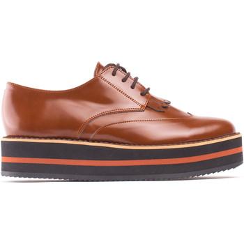 Chaussures Femme Derbies Peta Collab Green Sandrabrown Marron