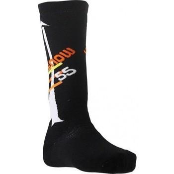 Accessoires Garçon Chaussettes Socks Equipement Chaussettes Hautes Garçon Coton SNOW Noir Noir