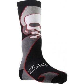Accessoires Garçon Chaussettes Socks Equipement Chaussettes Hautes Garçon Coton SKULL Noir Noir