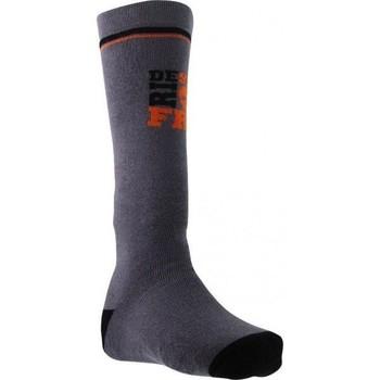 Accessoires Garçon Chaussettes Socks Equipement Chaussettes Hautes Garçon Coton FREERIDE Gris Gris