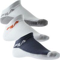 Accessoires Garçon Chaussettes Fila Lot de 3 paires de Socquettes Garçon Coton CALZ Skipper Blanc