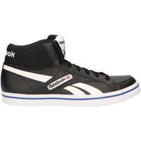 Chaussures Homme Baskets montantes Reebok Sport M46504 LC COURT VUL BLACK-WHITE Negro